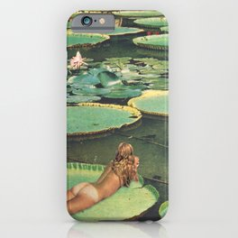 LILY POND LANE iPhone Case