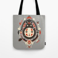 ink Tote Bags featuring A New Wind by Danny Haas