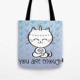 Lily Unicorn Kitty Tote Bag