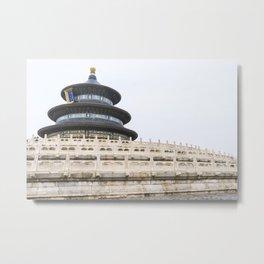 Temple of Heaven Metal Print