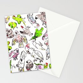All the Birds! Stationery Cards