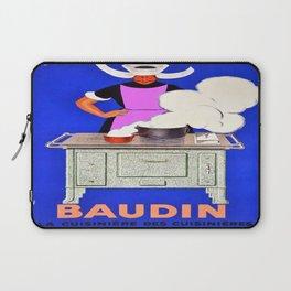 Vintage poster - Baudin Laptop Sleeve