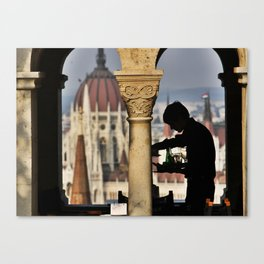 Waiter Canvas Print