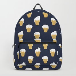 Meowlting Pattern Backpack
