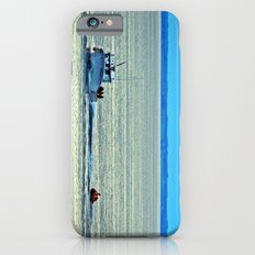 Fun with a Lobster Boat iPhone 6s Slim Case