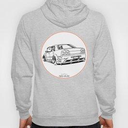 Crazy Car Art 0215 Hoody
