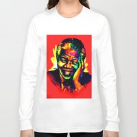 mandela Long Sleeve T-shirts featuring Mandela by abinibi