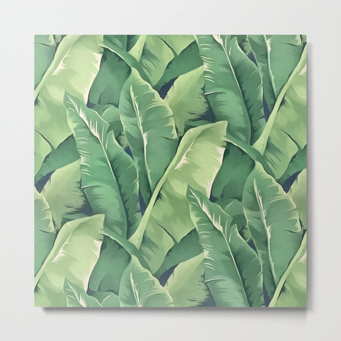 Banana leaves IV Metal Print