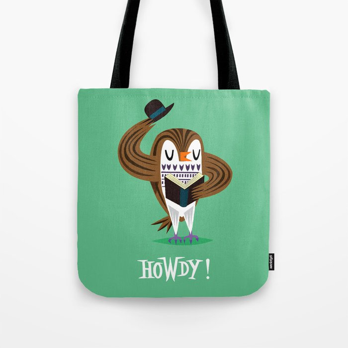 The Howdy Owl Tote Bag