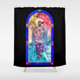 What Would Jesus Do? Shower Curtain