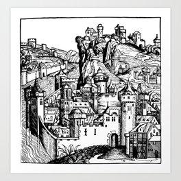 Folio 283v Art Print