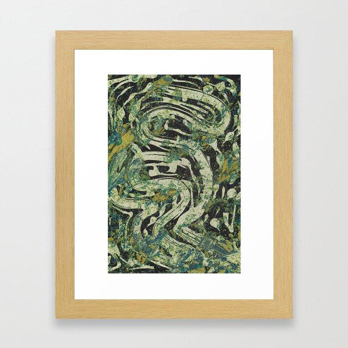 Pattern № 87 Framed Art Print