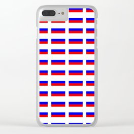 Flag of russia 2 -rus,ussr,Russian,Росси́я,Moscow,Saint Petersburg,Dostoyevsky,chess Clear iPhone Case