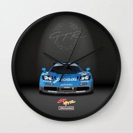 1995 McLaren F1 GTR Le Mans - Jacadi Livery Wall Clock