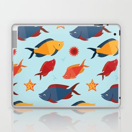 Fishes in the sea Laptop & iPad Skin