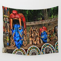 da vinci Wall Tapestries featuring Da Chief by gymmybob