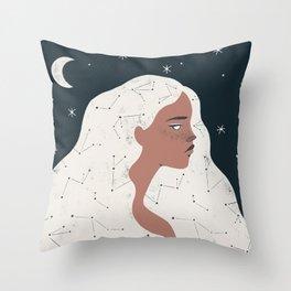 keeper of stars Throw Pillow