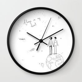 always in my heart 2 Wall Clock