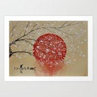 japan Art Prints featuring Japan by Japan Art