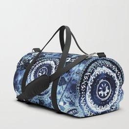 Navy Sea Mandala Duffle Bag
