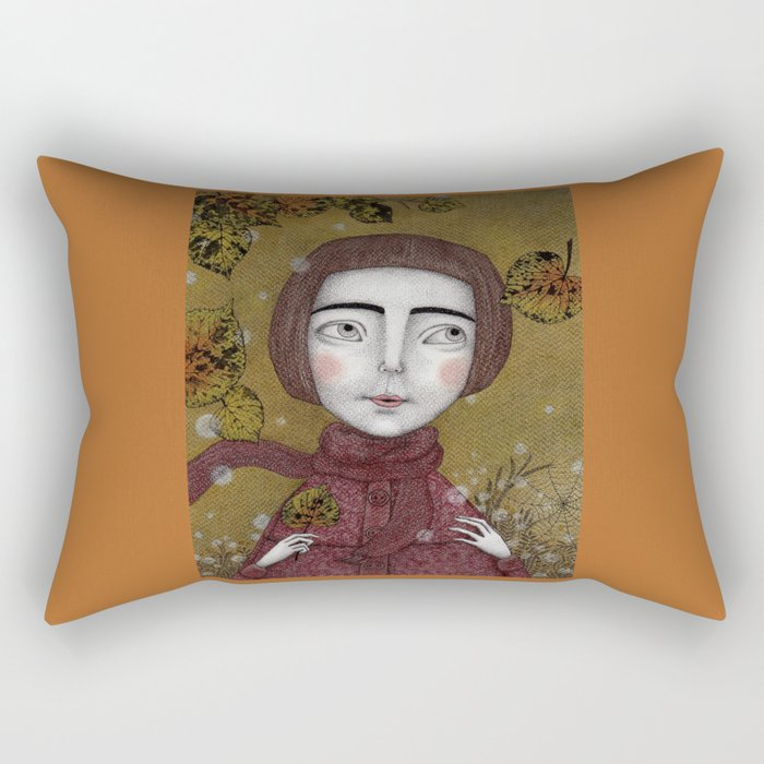October Rectangular Pillow