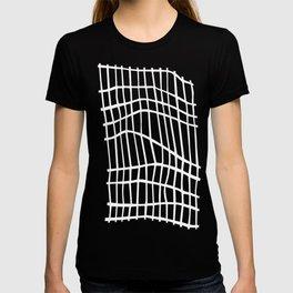 Net White on Blue T-shirt