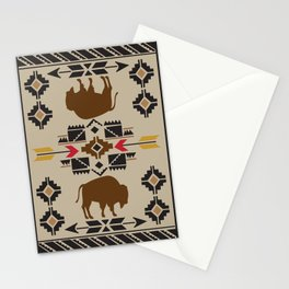 American Native Pattern No. 180 Stationery Cards
