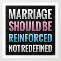 Marriage Should Be Reinforced by politics