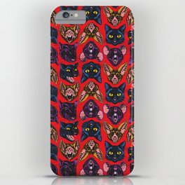 Bats! Cats! Rats! iPhone Case