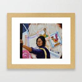 You are my happiness Tu Eres mi Alegria by Juan Manuel Rocha Kinkin Framed Art Print