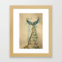 Angel of the Rocks Framed Art Print