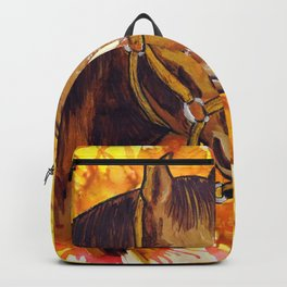 The Horse That Ran Away Backpack
