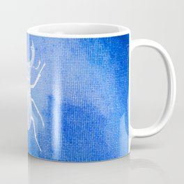 ekoxe full blå vit Coffee Mug