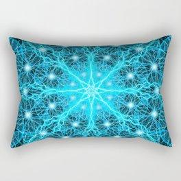 Electric Universe Mandala Rectangular Pillow