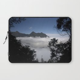 Mountain clouds Laptop Sleeve