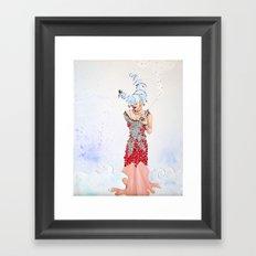 Silvermoon Framed Art Print