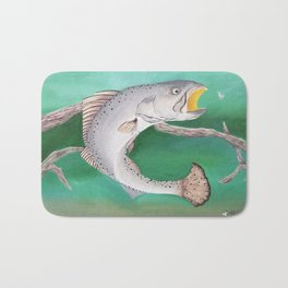 Take The Bait - Speckled Trout Bath Mat