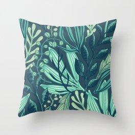 raw nature  Throw Pillow