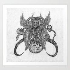 Trickster Art Print