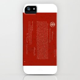 First US Patent Lodged - 1790 iPhone Case