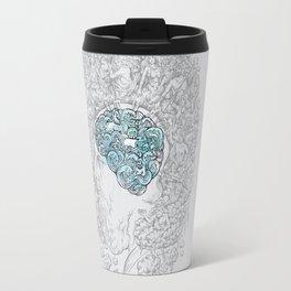 Ancient Brainstorm grey Travel Mug
