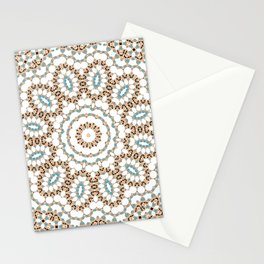 Multi-colored ornament 19 Stationery Cards