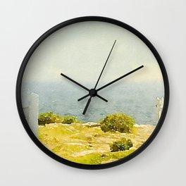 Pemaquid Point, Gate to the Ocean  Wall Clock