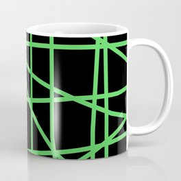Doodle (Green & Black) Coffee Mug