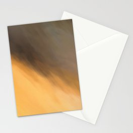 Abstract Orange Beige and Black Shades.   Like painted on canvas. Stationery Cards