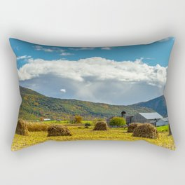 On the Farm Rectangular Pillow