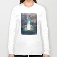 the fault Long Sleeve T-shirts featuring It´s your fault by HappyMelvin