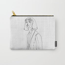 minimal drawing  Carry-All Pouch
