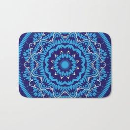 Mandala 010 Blue Mix Bath Mat