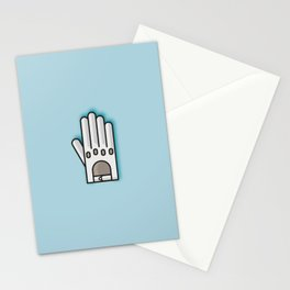 Fancy Glove Icon  Stationery Cards
